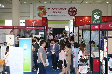 in-cosmetics Korea opens this week