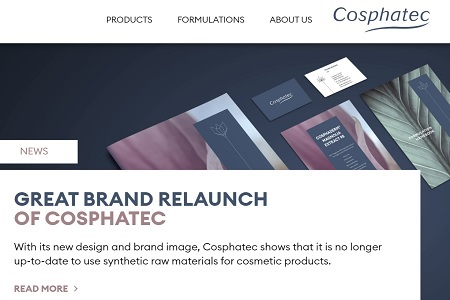 New website launched with fresh, natural design