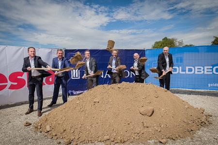 Work starts on new distribution centre for pigments