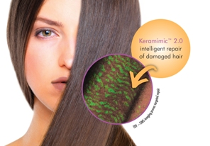 Keramimic 2.0 from Croda - Intelligent Repair of Damaged Hair